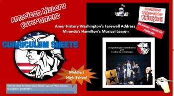Washington's Farewell Address Using Lin Manuel Miranda's Hamilton's Musical