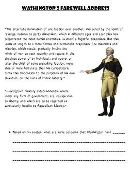 Washington's Farewell Adress