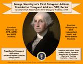 Washington's First Inaugural Address - DBQ - PDF Format fo
