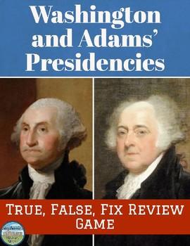 Washington to Adams Review Game