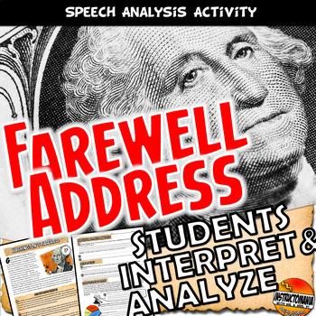 Washington's Farewell Address Analysis Common Core