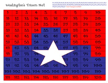 Washington's Tricorn Hat Hidden Picture
