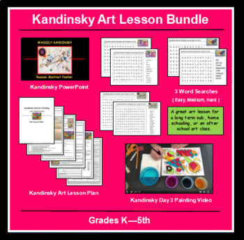 Wassily Kandinksy Abstract Painting Bundle
