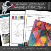 Wassily Kandinsky Art History Workbook and Activities - Ab