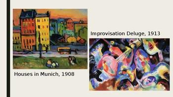 Wassily Kandinsky Art Power Point and Assessment