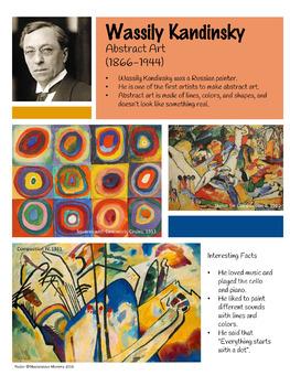 Wassily Kandinsky Artist Poster