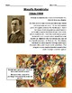 Wassily Kandinsky Biography & Activity Worksheet