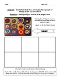 Wassily Kandinsky Biography & Activity Worksheet