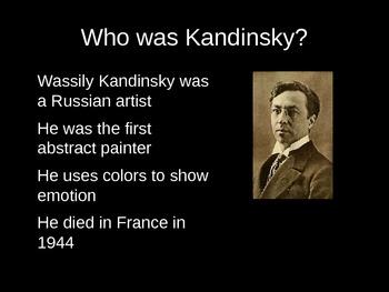 Wassily Kandinsky PowerPoint Presentation