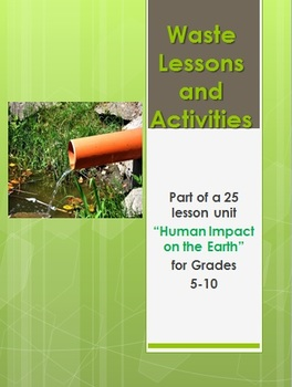 Waste Lessons and Activities - Environment Studies