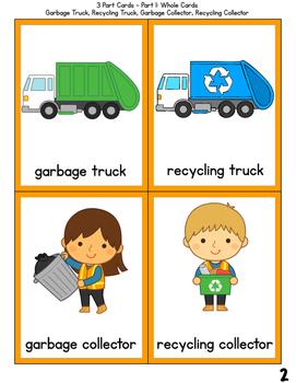 Waste Management 3 Part Cards