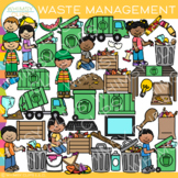 Waste Management Clip Art {Whimsy Clips Earth Day Clip Art}