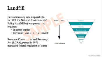 Waste Management and Hazardous Waste Removal Power Point Notes