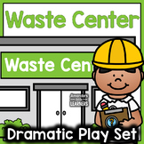 Waste Recycling Center Dramatic Play Set