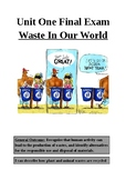 Waste in our World Final Exam