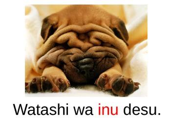 Watashi wa nan desu ka?  Japanese Interactive Big Book