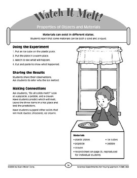 Watch It Melt! (Properties of Objects & Materials)