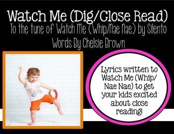 Watch Me Close Read
