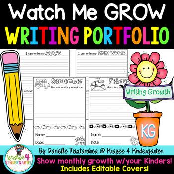 Watch Me Grow Monthly Writing Portfolio