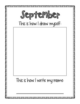 Watch Me Grow - Monthly Writing Sample