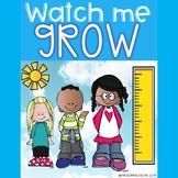 Watch Me Grow!-student height measurement
