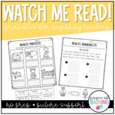 Watch Me Read Simple Sentence Comprehension
