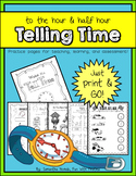 Watch Me Tell Time: time to the hour and half hour