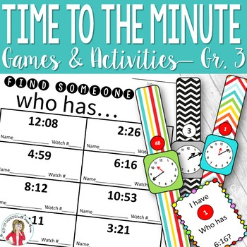 Telling Time to the Minute Games