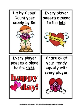 Watch Our for Cupid- Valentine's Party Math Game