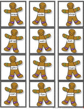 Watch Out, Gingerbread Man! A Poem, Activities, & Printables for K-3