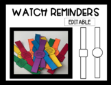 Watch Reminders-Editable