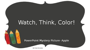 Watch, Think, Color-Apple