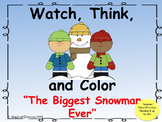 Watch, Think, Color  Snowman _ Number Identification