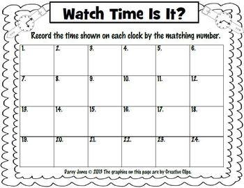 Watch Time Is It?