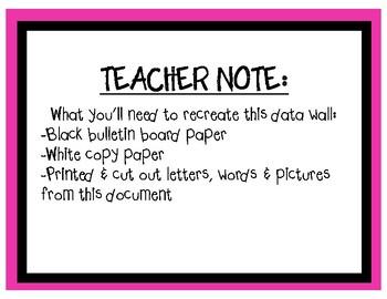 Watch Us Grow! (Classroom Data Wall Kit)