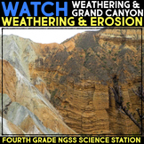 Watch a Video Weathering & Erosion -  Fourth Grade Science Stations