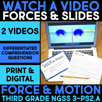Watch a Video about Force & Swings, Slides & Science - Science Station