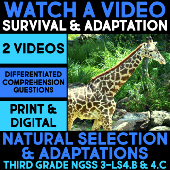 Watch a Video about Plant Adaptations or Natural Selection - Science Station