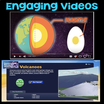 Watch a Video about Plate Tectonics -  Fourth Grade Science Stations