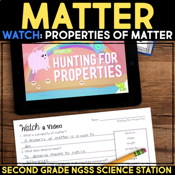 Watch a Video about Properties of Matter - Second Grade Science Stations