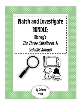 Watch and Investigate BUNDLE: Disney's The Three Caballeros and Saludos Amigos