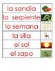 Letter S s: Watch, build and write - Letra S s: Observo, construyo, escribo