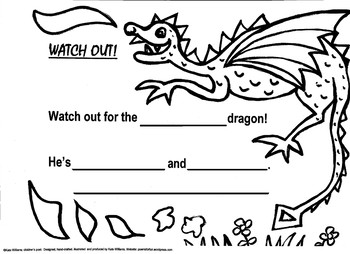 Watch out for the Dragon - Worksheet