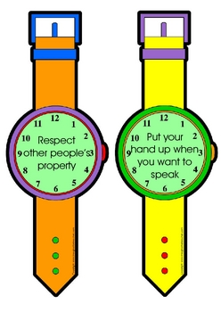 Watches Behavior Chart
