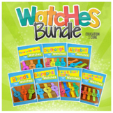 Phonics Watches Bundle | Phonics Activities