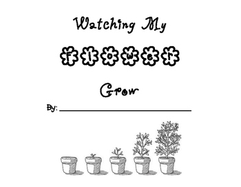 Watching My Flower Grow Book