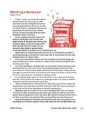 Watching a Beekeeper - Literary Text Test Prep