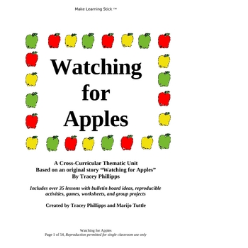 Watching for Apples - Integrated Thematic Unit