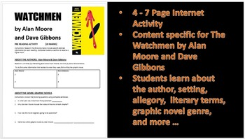 Watchmen - by Alan Moore: Pre-Reading Web-Quest