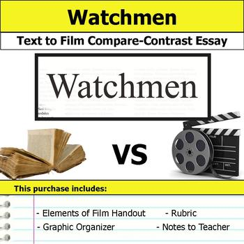 Watchmen - Text to Film Essay Bundle